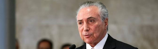 Michel Temer recua e exclui servidores estaduais da reforma da Previdência!