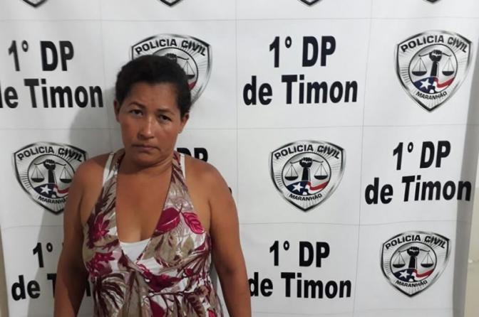 Mulher é presa em Timon por furtar celulares durante shows