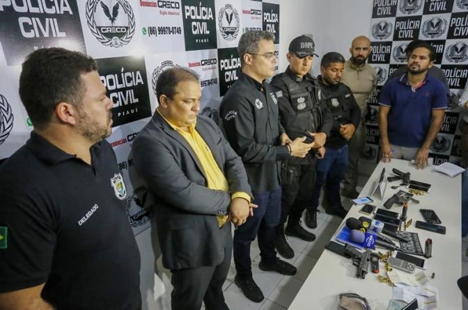 Greco prende PMs suspeitos de roubo de cargas no Piauí e Maranhão