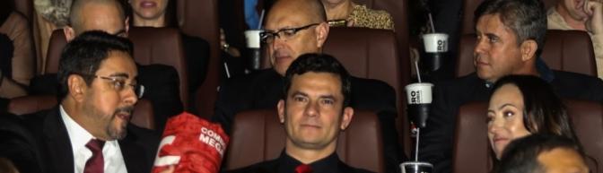 Moro, Bretas, Anselmo e Hoffmann vão à pré-estreia de filme sobre a Lava Jato!