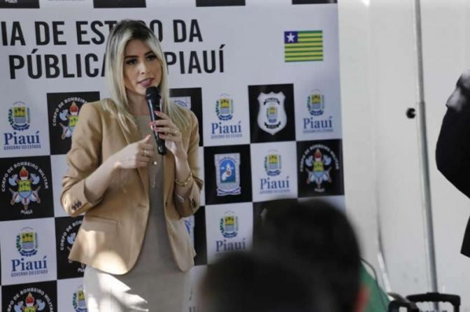 Anamelka Cadena é a nova subsecretária de Segurança Pública do PI
