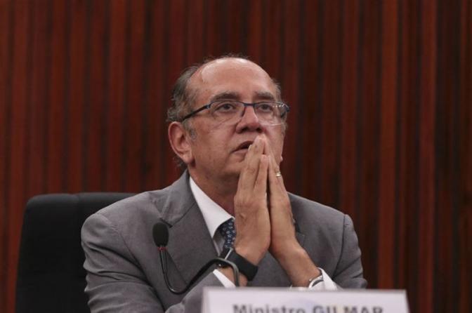 """""""Um constitucionalista chega ao STF e se preconiza delegado de polícia"""", diz Gilmar Mendes"""