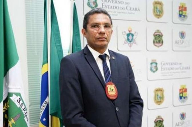 Sérgio Pereira dos Santos é o novo delegado geral da Polícia Civil do Ceará