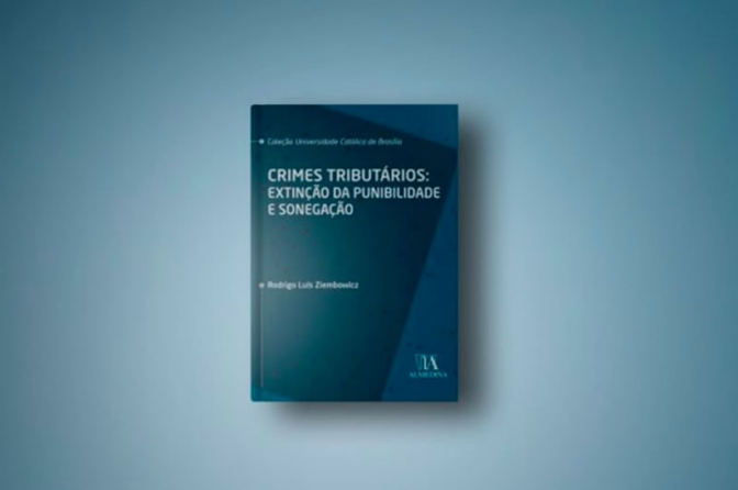 Delegado federal divulga pré-venda de livro sobre crimes tributários