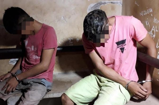 Auto de Prisão em Flagrante conjugado com Auto de Apreensão de Adolescente na mesma ocorrência