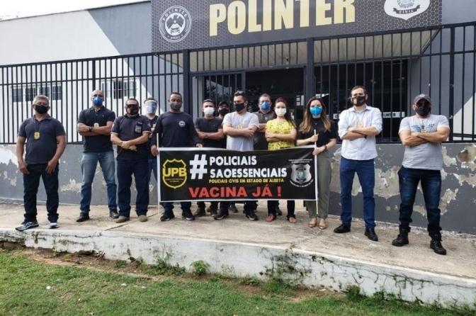 Policiais, bombeiros e professores são incluídos na prioridade de vacinação contra Covid no Piauí