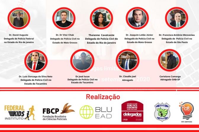 I Congresso Brasileiro On line de Polícia Judiciária e Direito dos Idosos. Não perca!