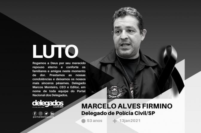 Delegado Marcelo Firmino morre em Bauru aos 53 anos