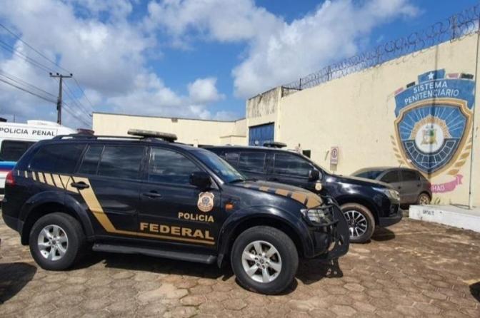 Polícia Federal desarticula facção criminosa que planejava matar diretor de presídio no MA