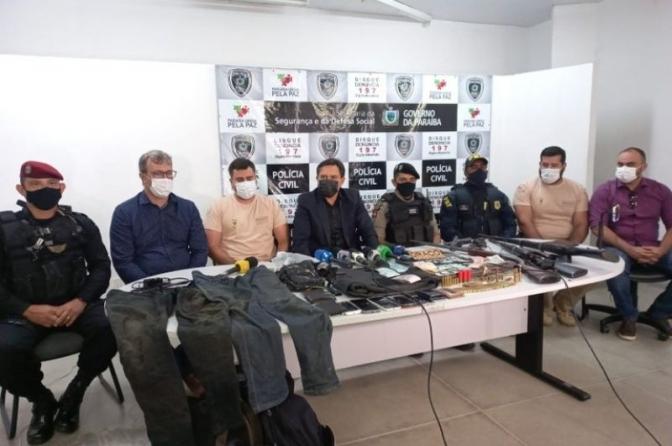 Paraíba contabiliza mais de 150 prisões de assaltantes de bancos