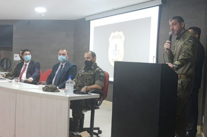 Secretário de Segurança e Delegado Geral do MA participam do encerramento do 6º Curso de Operações Táticas