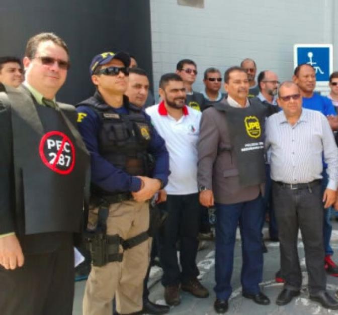 Polícias Civil e Federal paralisam atividades em protesto contra a reforma da Previdência