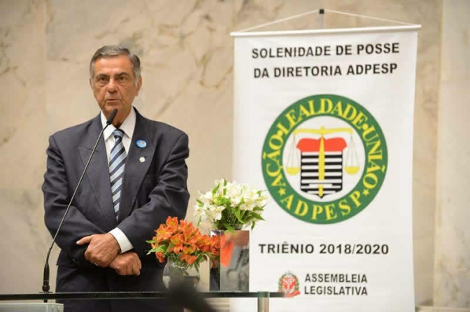 Presidente da Adepol Brasil, Carlos Eduardo morre após infarto