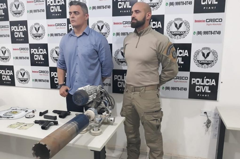 Grupo Especial da Polícia Civil do PI prende 6 assaltantes de banco!