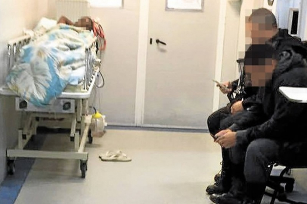 Autuado que está internado em hospital e a responsabilidade da custódia