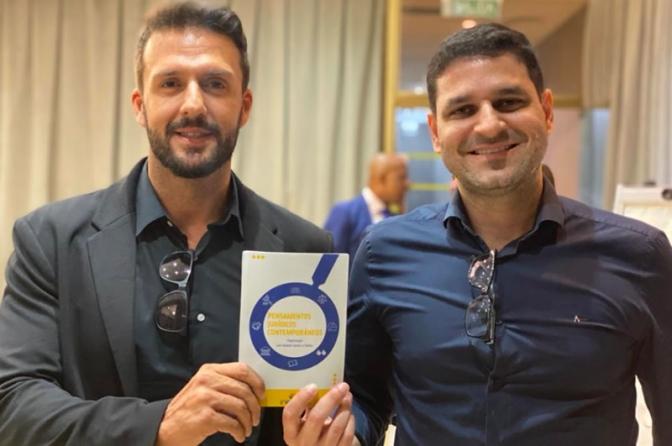 """Delegados lançam o livro """"Pensamentos Jurídicos Contemporâneos"""""""