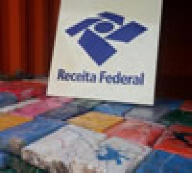 Operação da Receita Federal apreende 645 Kg de cocaína!