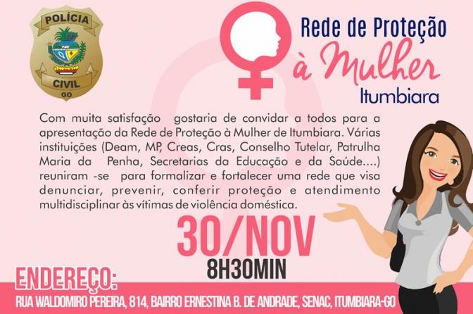 Rede de proteção à mulher é apresentada no interior de Goiás