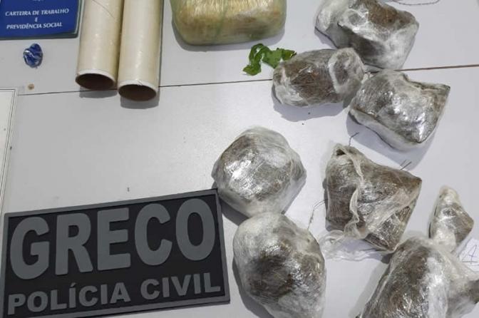 Policiais Civis do PI prendem 7 suspeitos de roubo a banco e tráfico de drogas e armas