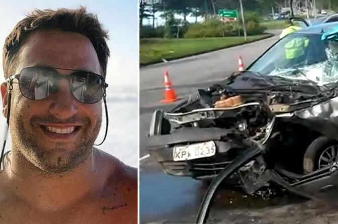 Surfista se envolve em acidente de carro, mata marinheiro e ainda ri durante exame de embriaguez