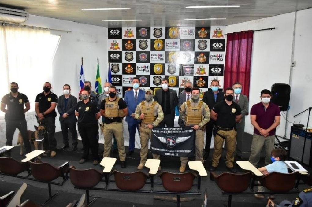 Polícia Civil do Maranhão forma 21 condutores de cães de detecção de substâncias