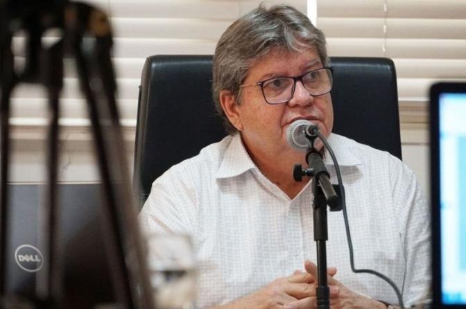 Governador da PBdefende vacinação dos policiais que atuam no enfrentamento da Covid