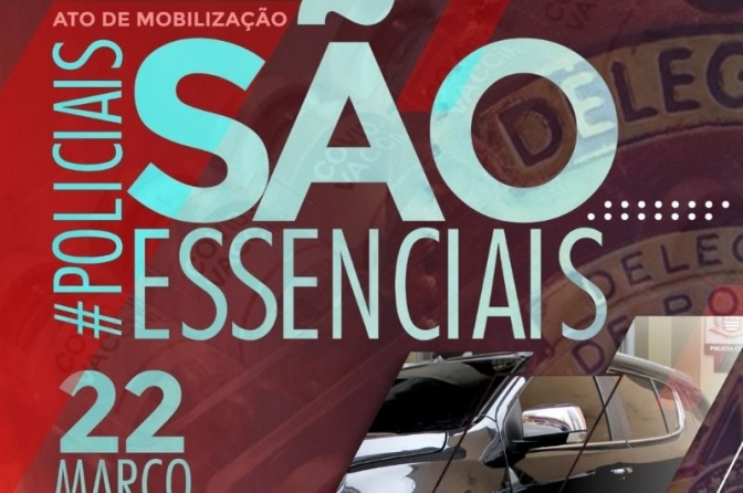 Policiais de todo o Brasil iniciam uma grande manifestação sobre vacinação contra Covid!