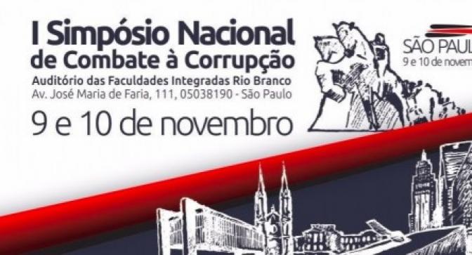 I Simpósio Nacional de Combate à Corrupção