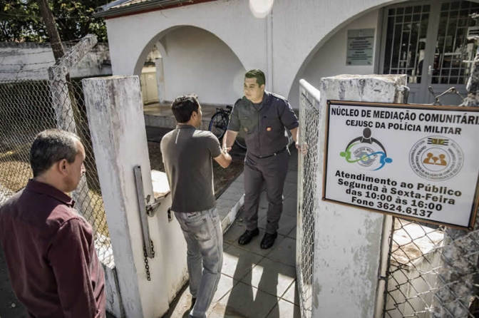 PM planeja núcleos para mediar brigas entre vizinhos em São Paulo