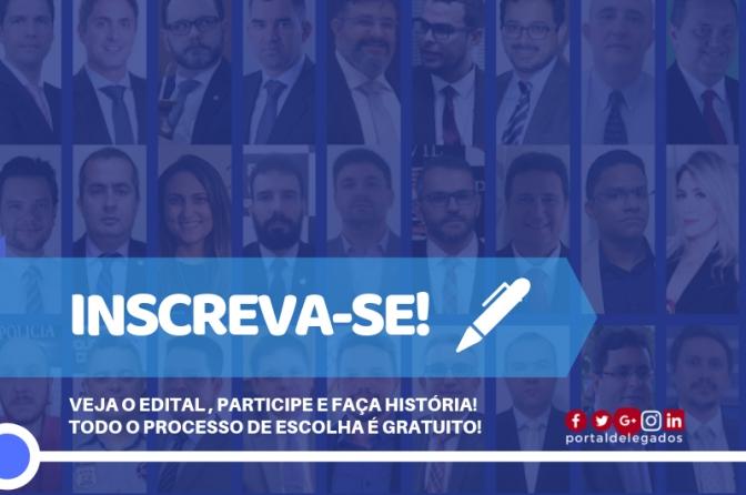 Inscrição para Escolha dos Melhores Delegados de Polícia do Brasil! Censo 2019!