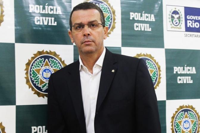 Delegado Rivaldo Barbosa é o novo Chefe da Polícia Civil do Rio