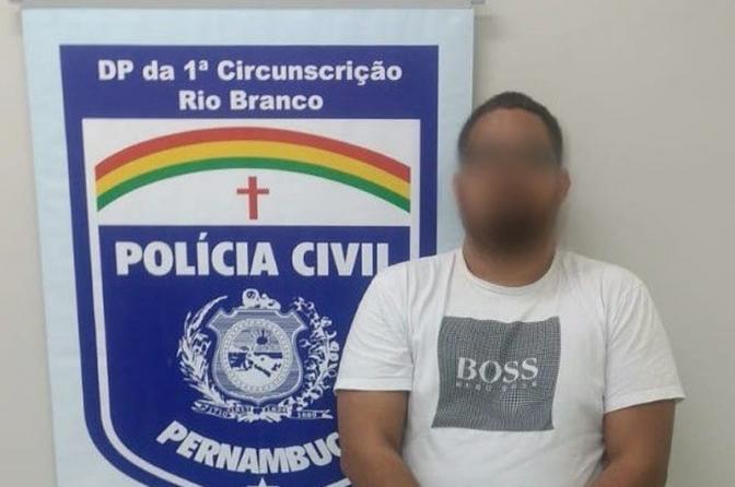 Polícias Civis da PB e PE prendem estelionatário foragido