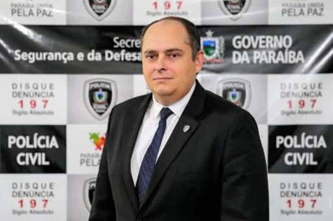 Delegado Geral da PB será homenageado com título de cidadão paraibano