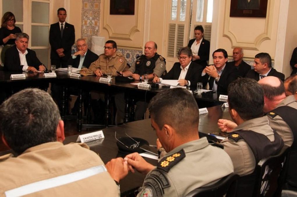 Governador da PBdestaca compromisso da Segurança para manter redução de crimes
