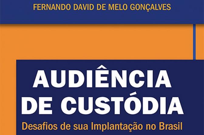 Diretor da ADPESP lança livro sobre audiência de custódia