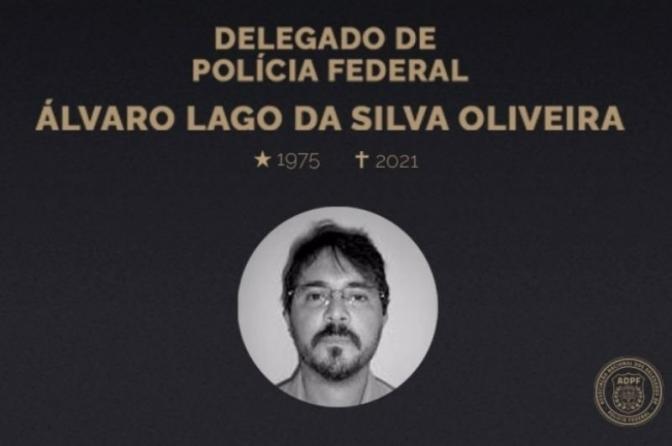 Falecimento do delegado da PF Álvaro Lago da Silva Oliveira