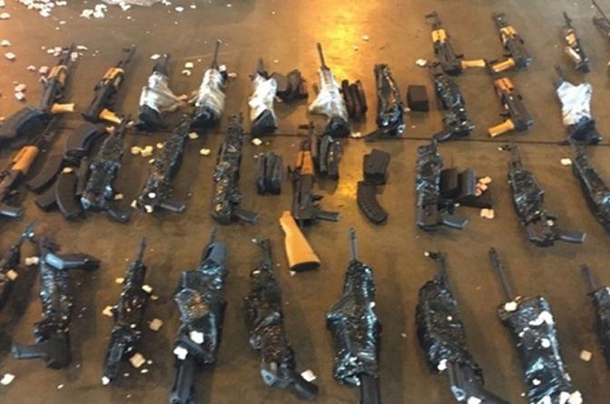 Exército dá parecer favorável ao uso de fuzis apreendidos pela Polícia Civil do Rio