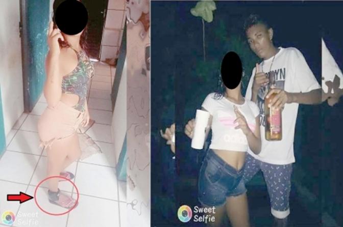 Jovem faz namorada de 14 anos usar sua tornozeleira eletrônica na virada do ano