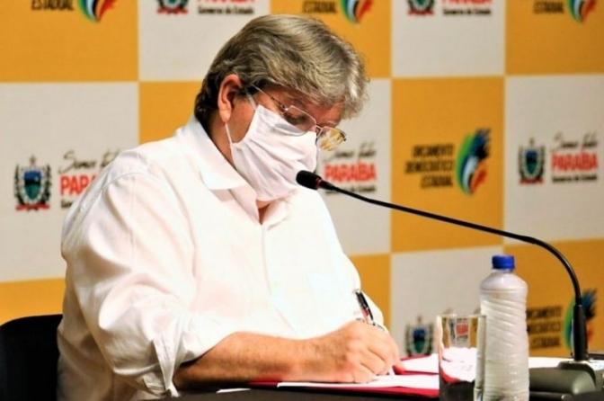 Governador João Azevêdo anuncia concurso com 1.400 vagas para a Polícia Civil da PB