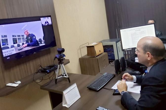 Atendimento de flagrantes por videoconferência começa na sexta no Paraná