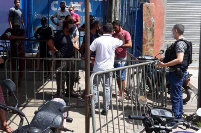 Delegado do MA prende traficante no momento em que estava na fila para receber o auxílio emergencial
