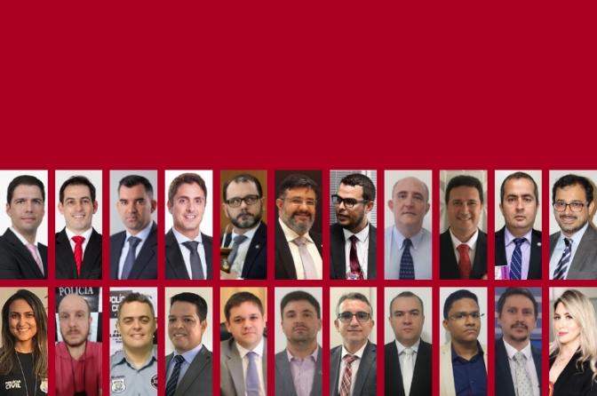 Divulgada a Lista dos Melhores Delegados de Polícia do Brasil! Censo 2018!