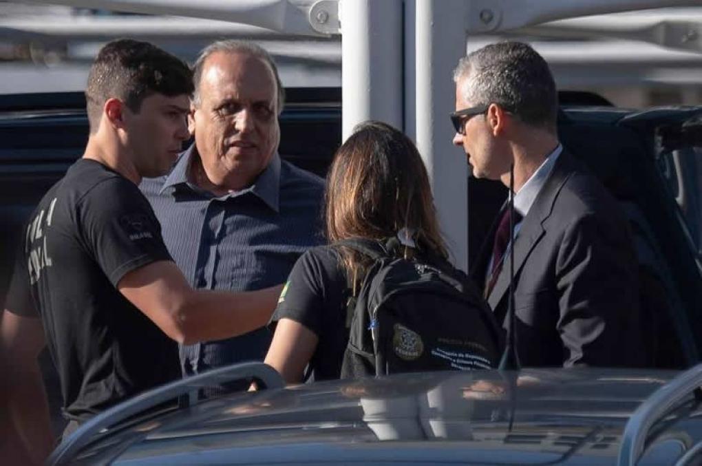 Governador do Rio, Luiz Pezão, é preso pela PF!