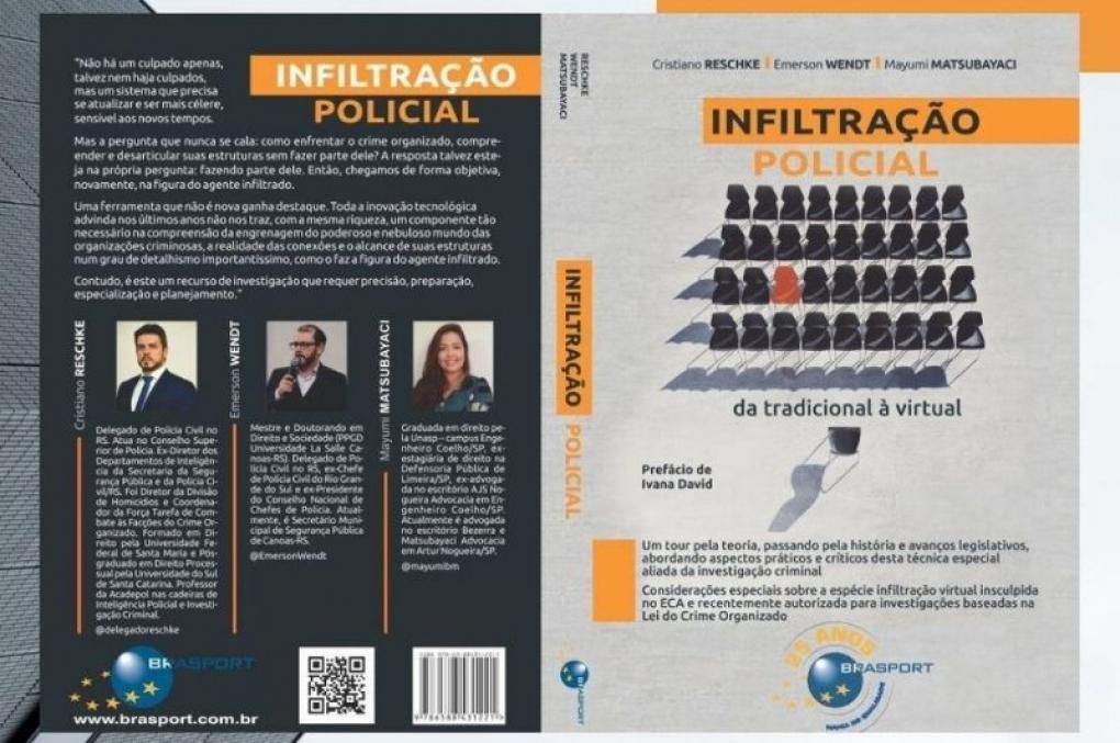 Livro 'Infiltração Policial:da tradicional à virtual'