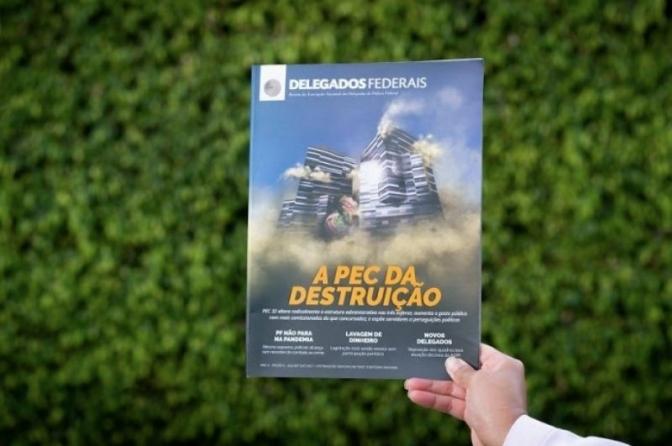ADPF lança Revista Delegados Federais com destaque para os prejuízos da PEC 32