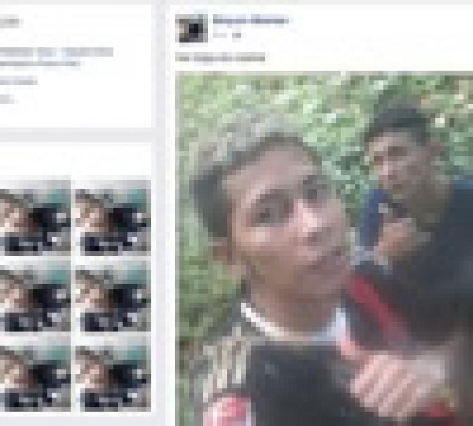 Fugitivo de presídio no AM posta foto no Facebook comendo jaca na mata