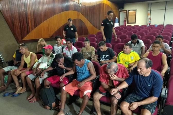 Polícia apresenta 20 abusadores sexuais de crianças e adolescentes no Pará!