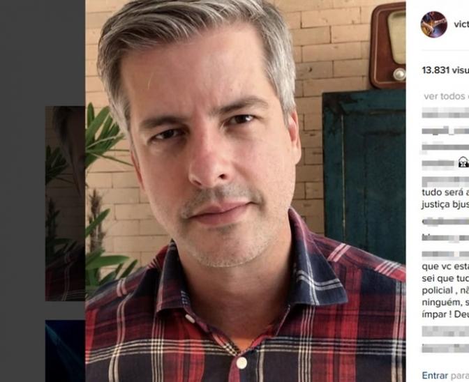 Cantor Victor se defende em rede social após 'indiciamento' pela Polícia Civil