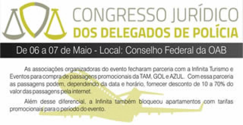 1˚ Congresso Jurídico dos Delegados de Polícia!