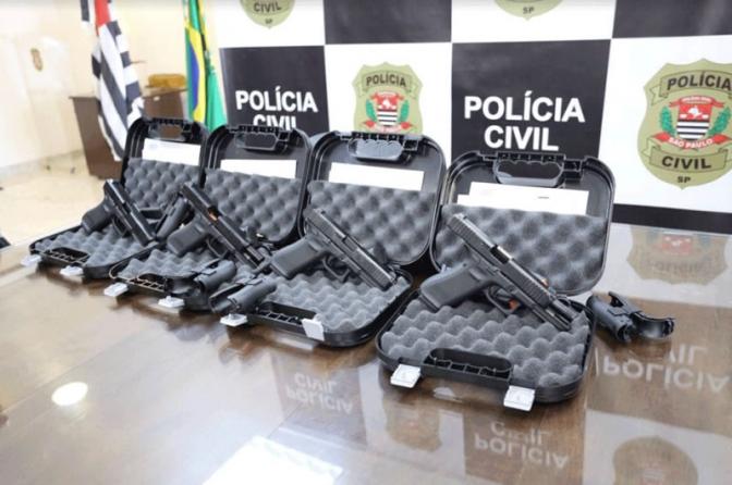 Após décadas usando armas da Taurus, Polícia Civil de SP compra 4 mil pistolas da Glock por R$ 12 milhões